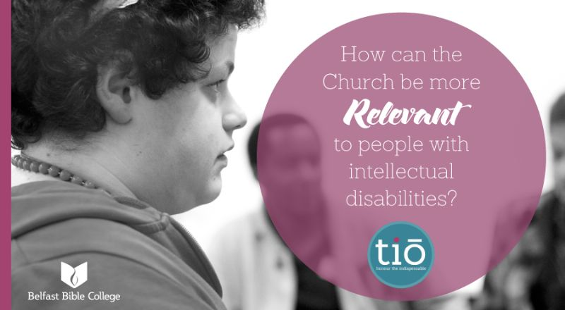 How can your Church be relevant to people with intellectual disabilities?